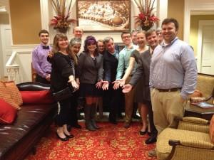Bill Nye with WKU and Gatton Academy representatives
