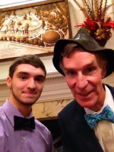 Bill Nye and Gus Madsen